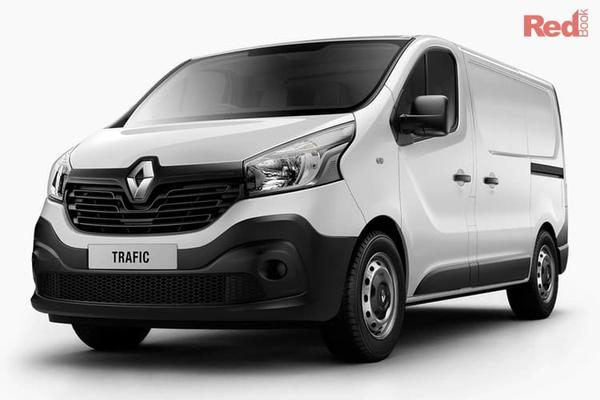 Renault Trafic Trader Life  Trafic Trader Life SWB 66kW turbo manual from $31,990 drive away (ABN buyers only)