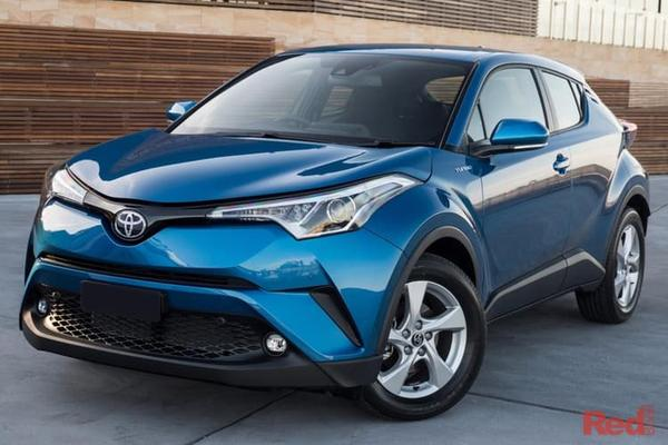 Toyota C-HR  C-HR AWD petrol auto CVT from $32,990 drive away including Metallic Paint, Finance Offer available