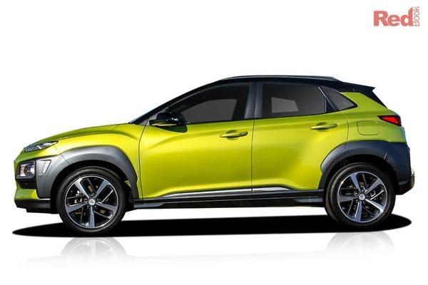 Hyundai Kona Highlander Selected Hyundai models - 7 Year Warranty