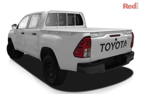 Toyota Hilux Workmate Selected 2018 & 2019 build HiLux 4x4 models - Finance Offer available to approved business applicants