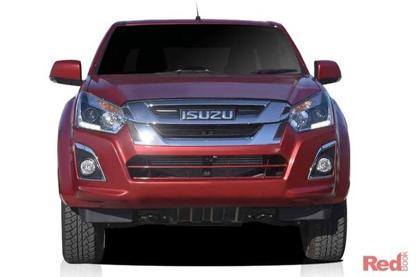 Isuzu D-MAX LS-M D-MAX LS-M 4x4 Crew Cab Ute auto from $43,990 drive away