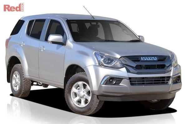 Isuzu MU-X LS-M MU-X LS-M 4x4 7 seat auto from $46,990 drive away