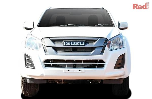 Isuzu D-MAX SX D-MAX SX High Ride 4x2 Crew Cab Chassis auto from $35,990 drive away including Alloy Tray