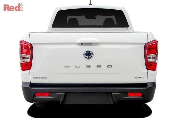 SsangYong Musso Ultimate Plus
