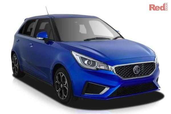MG MG3 Excite MG3 Excite petrol auto from $17,490 drive away