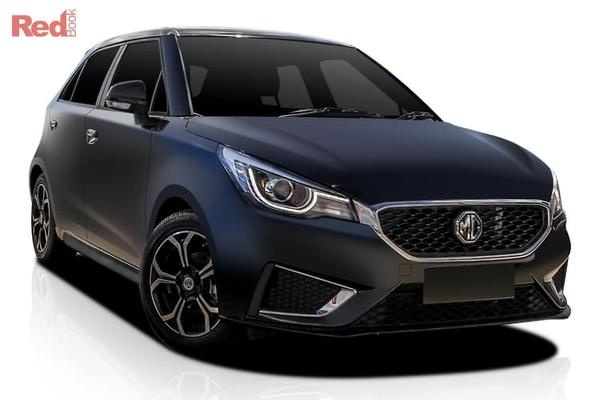 MG MG3 Excite MG3 Excite petrol auto from $17,490 drive away with $555 Cashback Bonus + MG Gift Pack