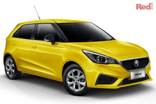 MG MG3 Core MG3 Core petrol auto from $15,990 drive away with $555 Cashback Bonus + MG Gift Pack