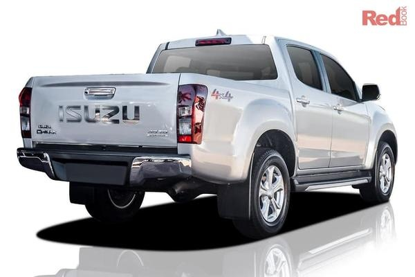 Isuzu D-MAX LS-U D-MAX LS-U 4x2 Crew Cab Ute auto from $40,990 drive away