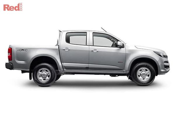 Holden Colorado LS 2018 Plate MY19 Colorado LS 4x4 Crew Cab Pick Up auto from $39,990 drive away