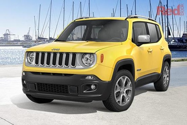 Jeep Renegade Limited MY17 Renegade Limited 4x4 petrol auto from $36,950 drive away