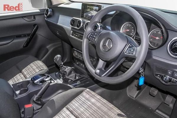 Mercedes-Benz X-Class X220d  X-Class 4-cylinder models - On roads and GST