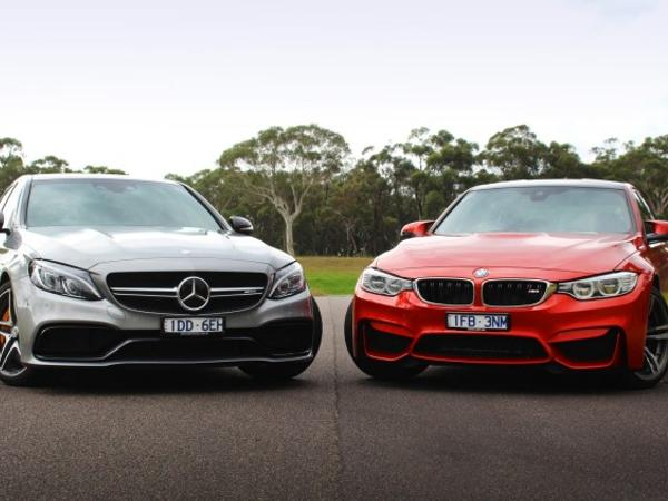 Head to head: Mercedes-AMG C63 S vs BMW M3 - Head to head