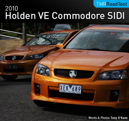 2010 Holden VE Commodore SIDI First Drive Review