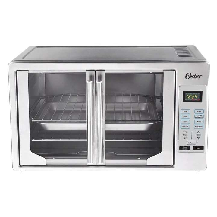 Oster Silver French Door Digital Toaster Oven | Loveseat ...