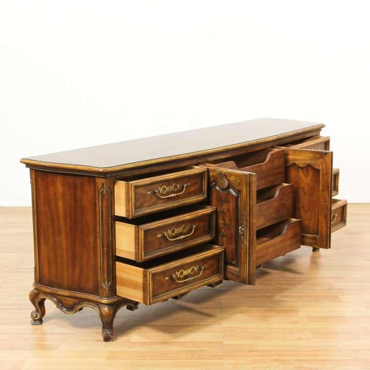 """Drexel Heritage"" Long Traditional Dresser"