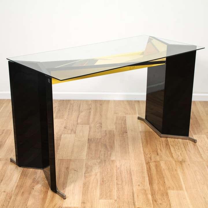 Retro Modern Memphis Style Table Desk