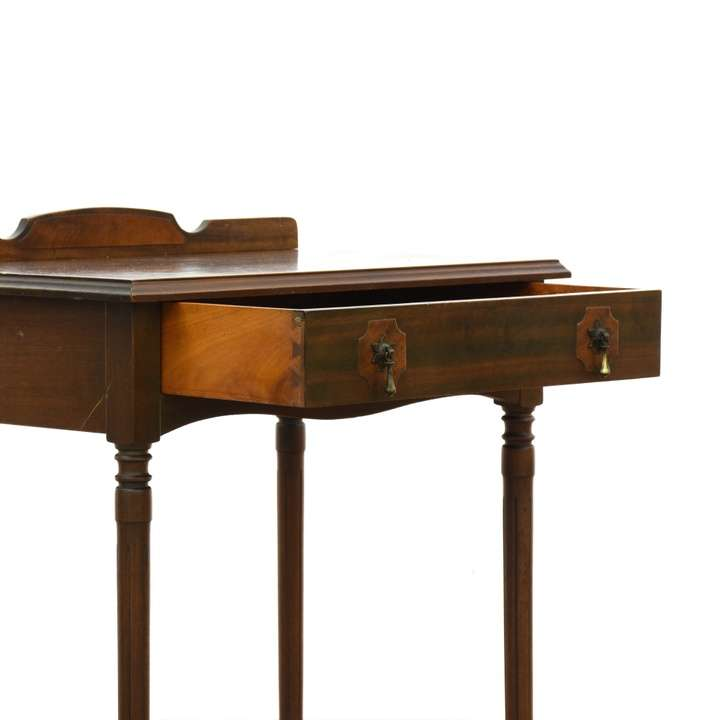 Antique Nightstand Or Small Desk Loveseat Vintage