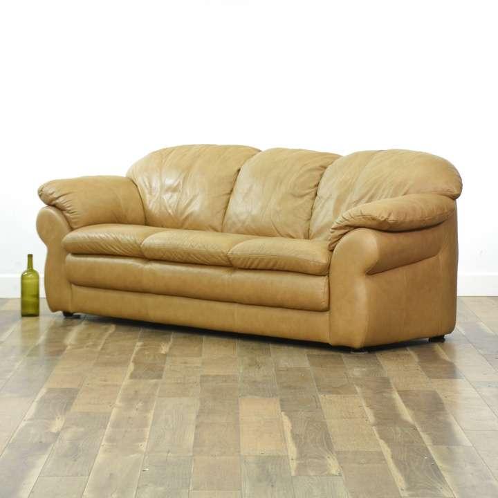 Chateau D'Ax Divani Italian Leather Sofa   Loveseat ...