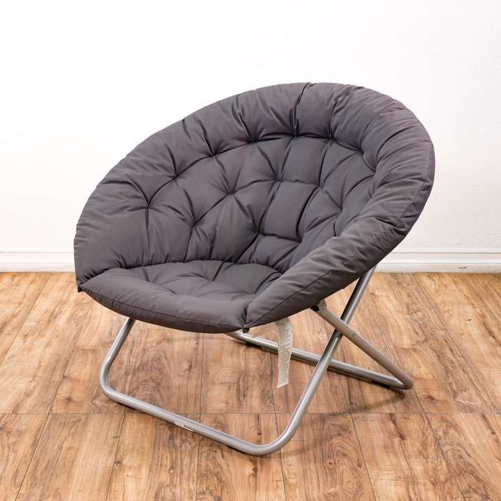 Pair Of Black Mid Century Modern Folding Chairs Loveseat