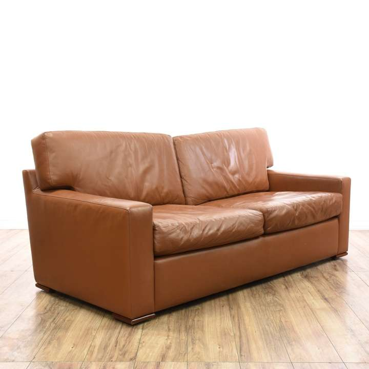 Bassett micro suede sofa loveseat vintage furniture for Suede loveseat