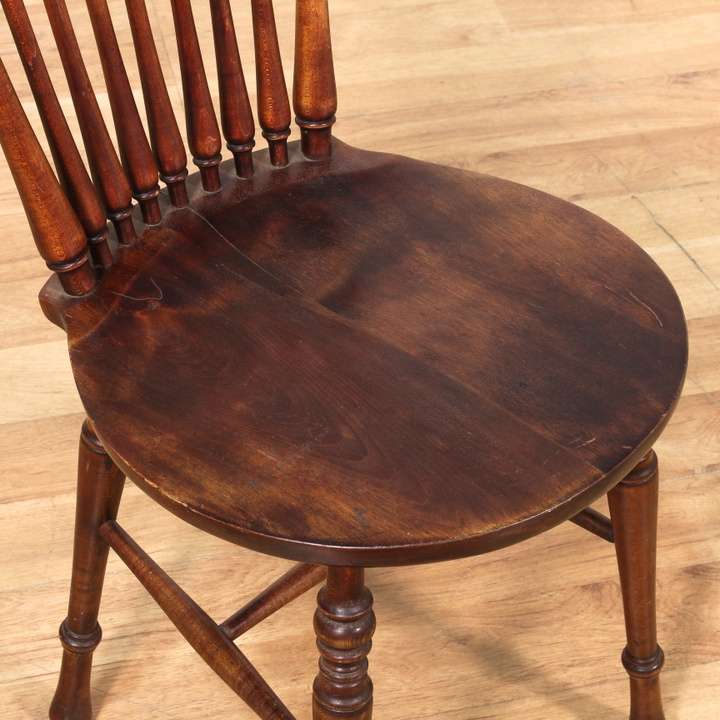 Antique spindleback wood chair 2 loveseat vintage for Reclaimed wood furniture los angeles