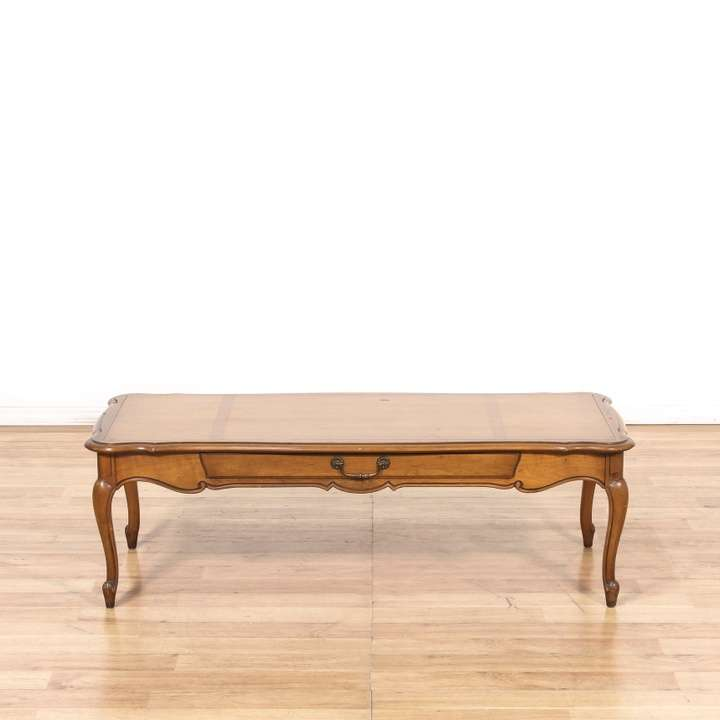 "Vintage French Provincial Coffee Table: ""Imperial"" French Provincial Coffee Table"