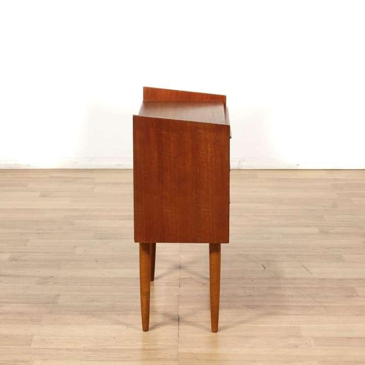 Danish modern teak chest of drawers dresser loveseat for Danish modern la