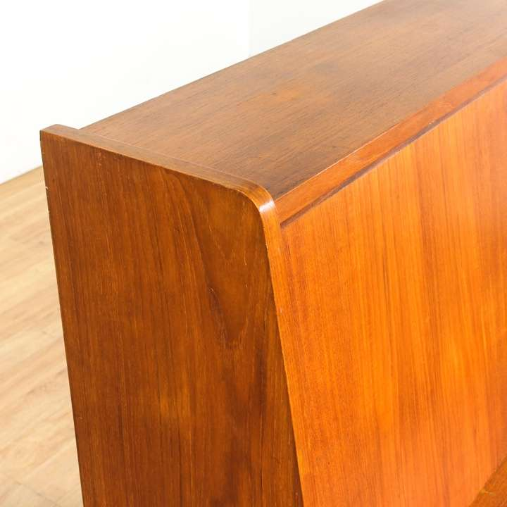 Danish modern secretary desk bureau loveseat vintage for Danish modern la