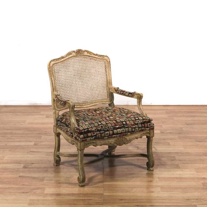 cottage chic white wicker rocking chair loveseat vintage furniture los angeles. Black Bedroom Furniture Sets. Home Design Ideas