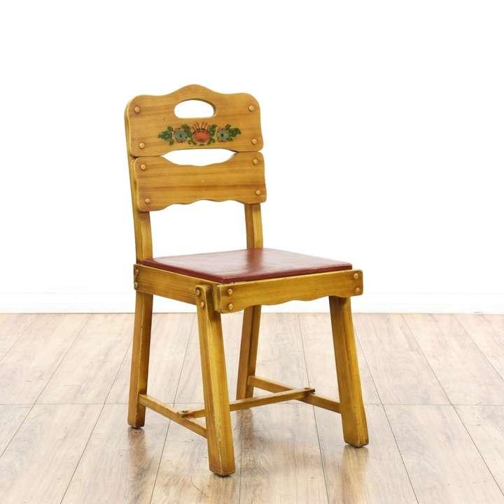 Rustic Oak Rolling Banker S Chair Loveseat Vintage
