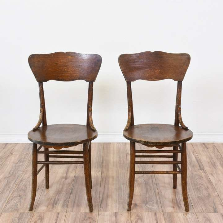 Pair of Bentwood Dining Chairs | Loveseat Vintage ...