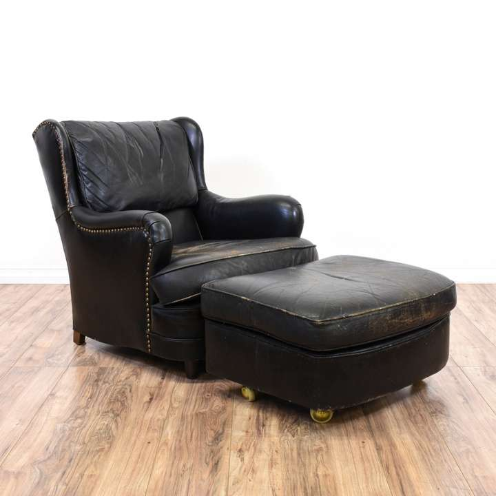 Remarkable Schafer Brothers Distressed Leather Armchair Loveseat Machost Co Dining Chair Design Ideas Machostcouk
