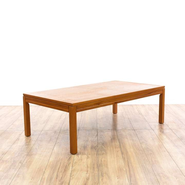 Marble Coffee Table Leather Sofa: Loveseat Vintage Furniture San Diego