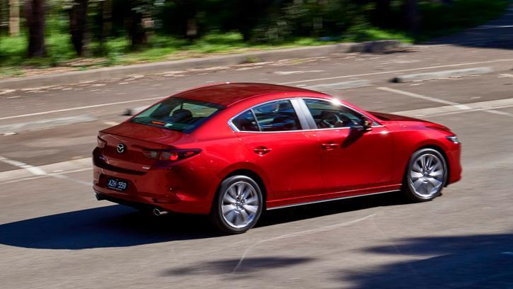 2019 Mazda 3 sedan review: G25 Evolve manual | Tech, Value