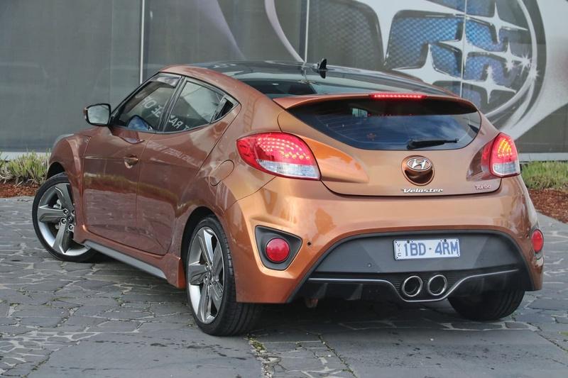 HYUNDAI VELOSTER SR FS2 SR Turbo Coupe 4dr Spts Auto 6sp 1.6T [Jul]