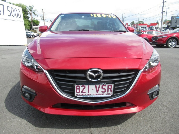 MAZDA 3 SP25 BM Series SP25 Sedan 4dr SKYACTIV-MT 6sp 2.5i [Jan]