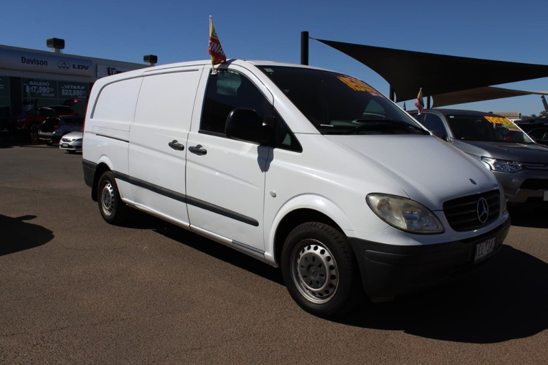MERCEDES-BENZ VITO 111CDI 639 111CDI Van Crew Cab Low Roof Extra Long 5dr Man 6sp 2.1DT [MY08]