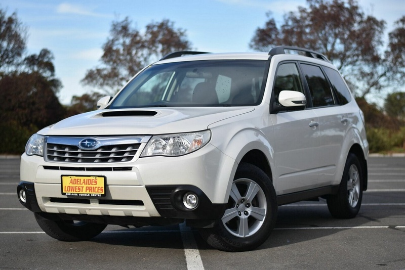 SUBARU FORESTER 2.0D S3 2.0D. Wagon 5dr Man 6sp AWD 2.0DT [MY12]