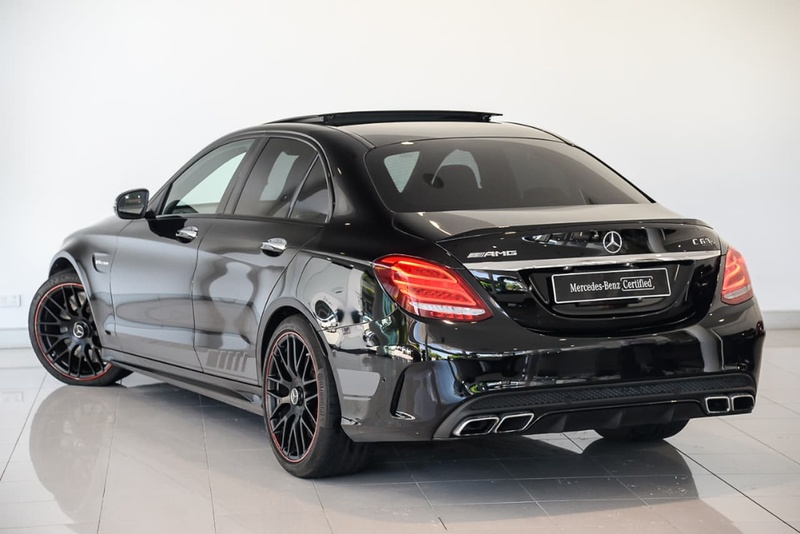 MERCEDES-BENZ C63 AMG W205 AMG S Sedan 4dr SPEEDSHIFT MCT 7sp 4.0TT [Jan]
