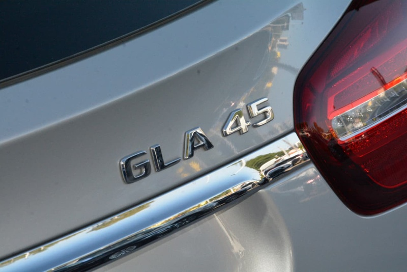 MERCEDES-BENZ GLA45 AMG X156 AMG Wagon 5dr SPEEDSHIFT DCT 7sp 4MATIC 2.0T