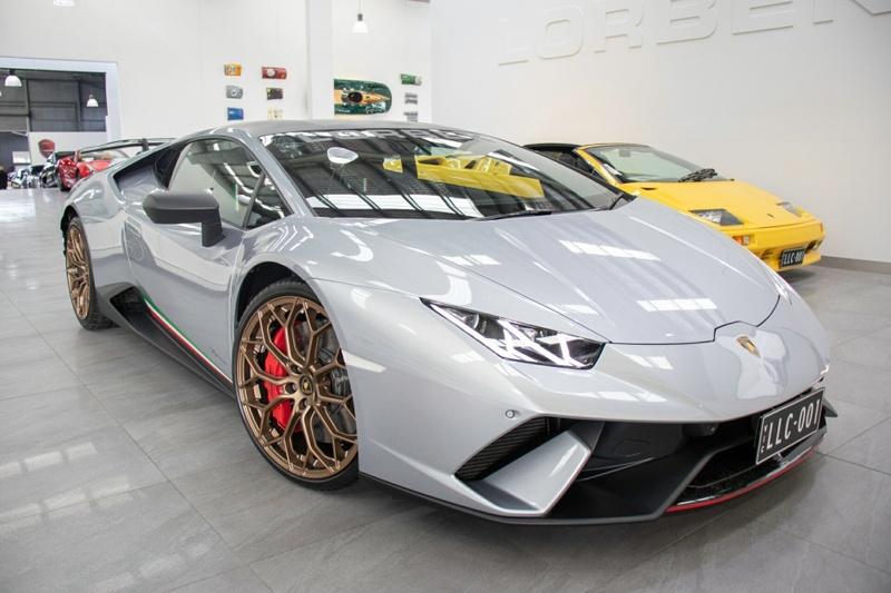 2018 Lamborghini Huracan Performante Auto Direct Shift