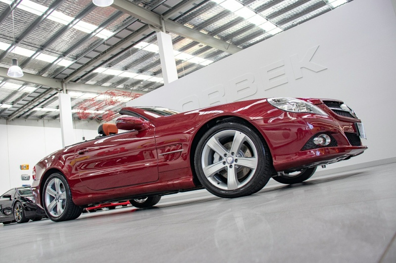 MERCEDES-BENZ SL350  R230 Roadster 2dr 7G-TRONIC 7sp 3.5i [MY10]