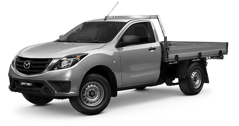 MAZDA BT-50 XT UR XT Cab Chassis Single Cab 2dr Man 6sp 4x2 2.2DT