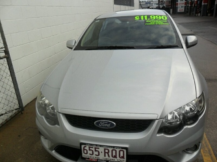 FORD FALCON XR6 FG XR6 Sedan 4dr Spts Auto 6sp 4.0i (Euro IV)