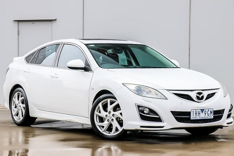 MAZDA 6 Luxury Sports GH Series 2 Luxury Sports Hatchback 5dr Spts Auto 5sp 2.5i [MY12]
