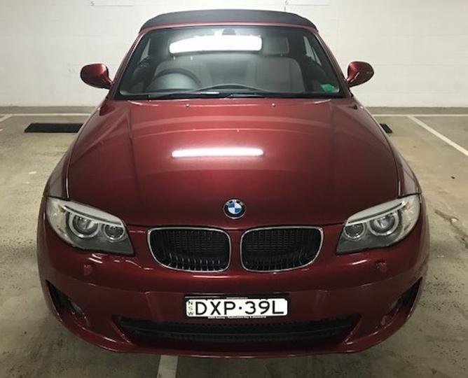 BMW 118D  E88 LCI. Convertible 2dr Man 6sp 2.0DT [MY13]