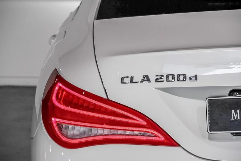 MERCEDES-BENZ CLA200 d C117 d Coupe 4dr DCT 7sp 2.1DT