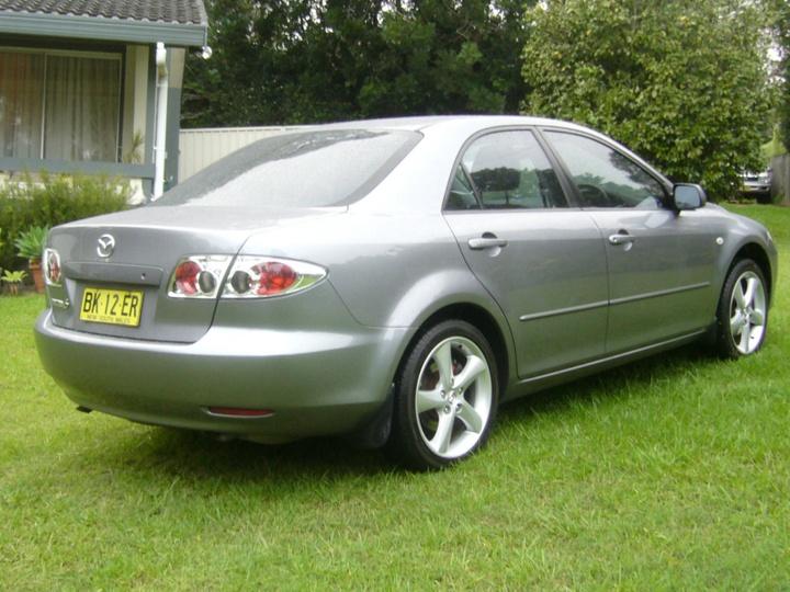 MAZDA 6 Luxury GG Series 1 Luxury Sedan 4dr Spts Auto 4sp 2.3i [MY04]