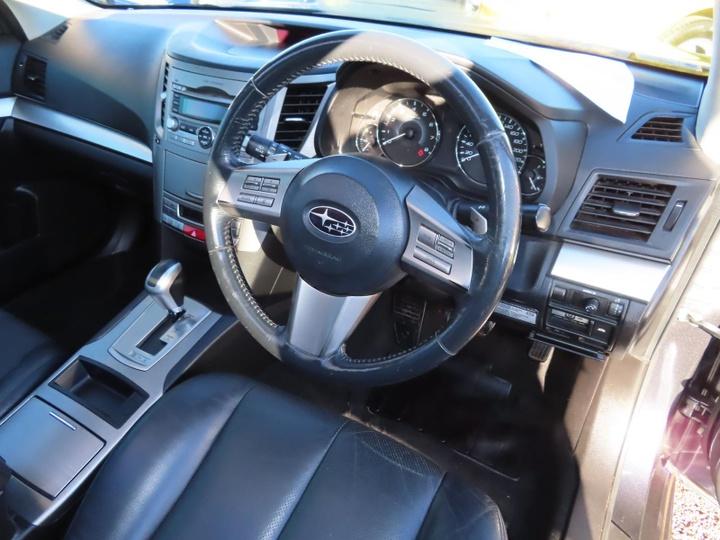 SUBARU LIBERTY GT 5GEN GT Premium. Wagon 5dr Spts Auto 5sp AWD 2.5T (Sat Nav) [MY10]
