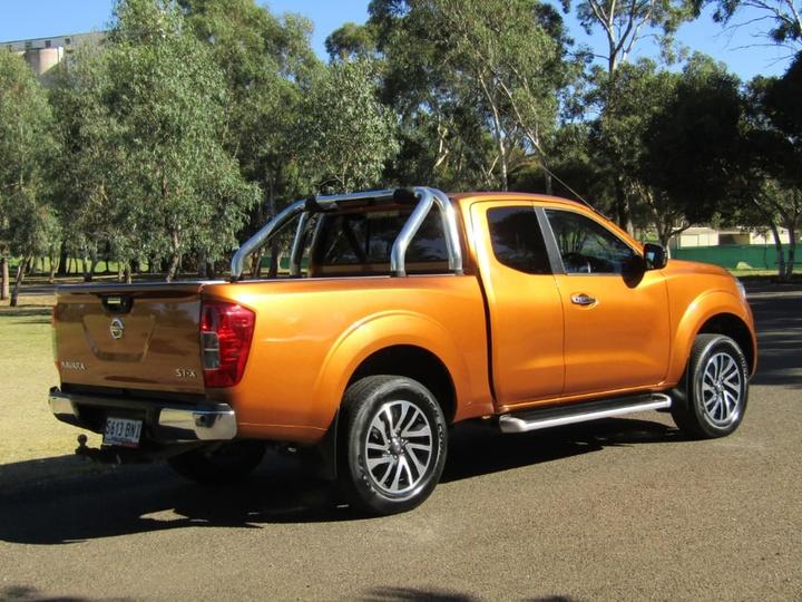 NISSAN NAVARA ST-X D23 ST-X Utility King Cab 4dr Spts Auto 7sp 4x4 2.3DTT